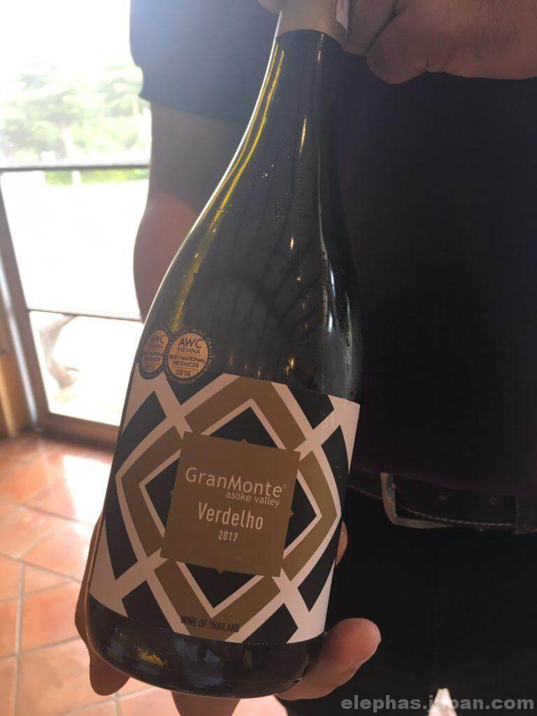カオヤイグランモンテの赤ワイン