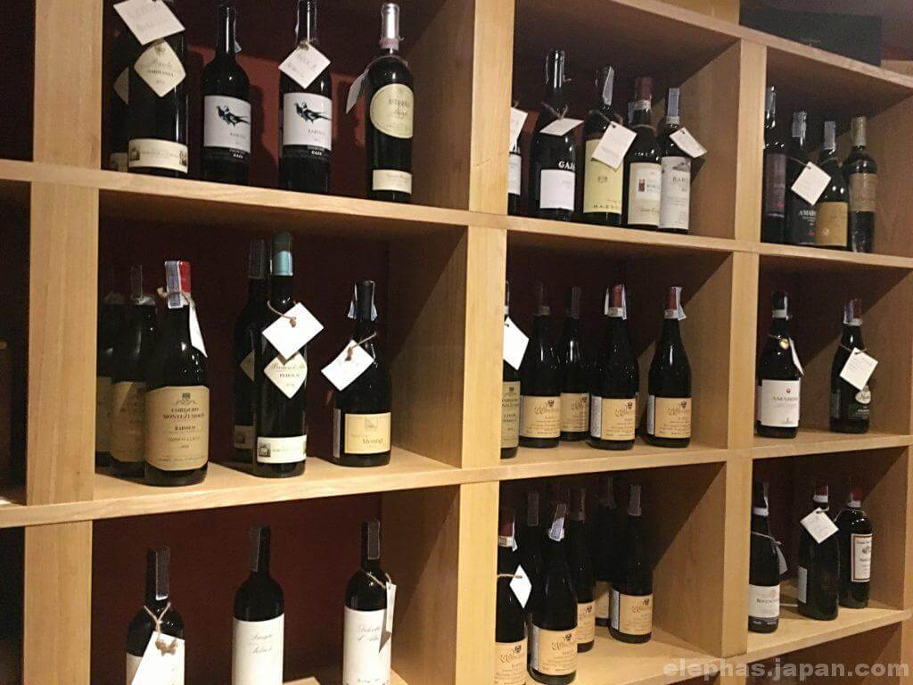 lenziワインリスト