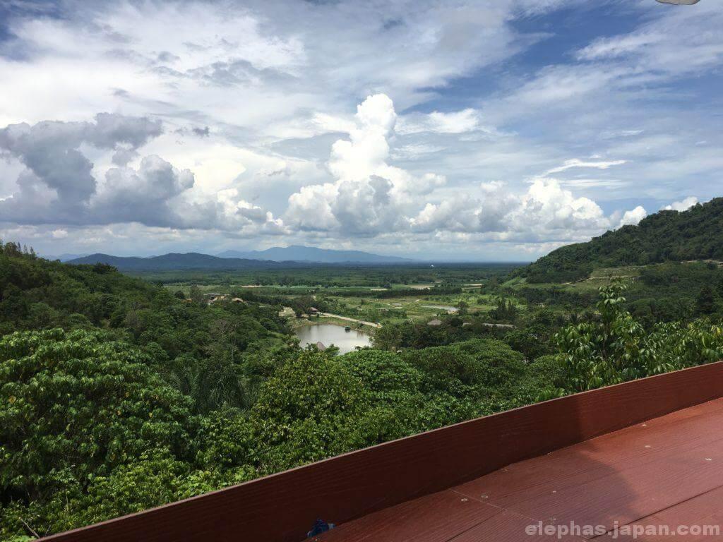 スワンラマイからの景色