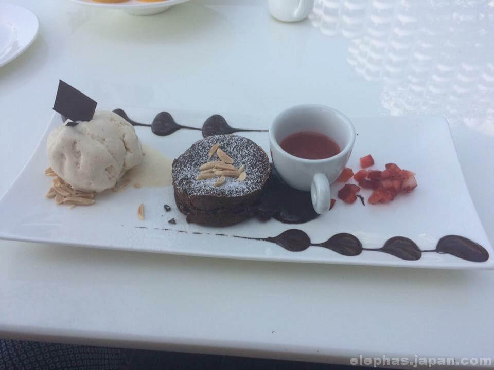 チョコレートファクトリーのフォンダンチョコレート
