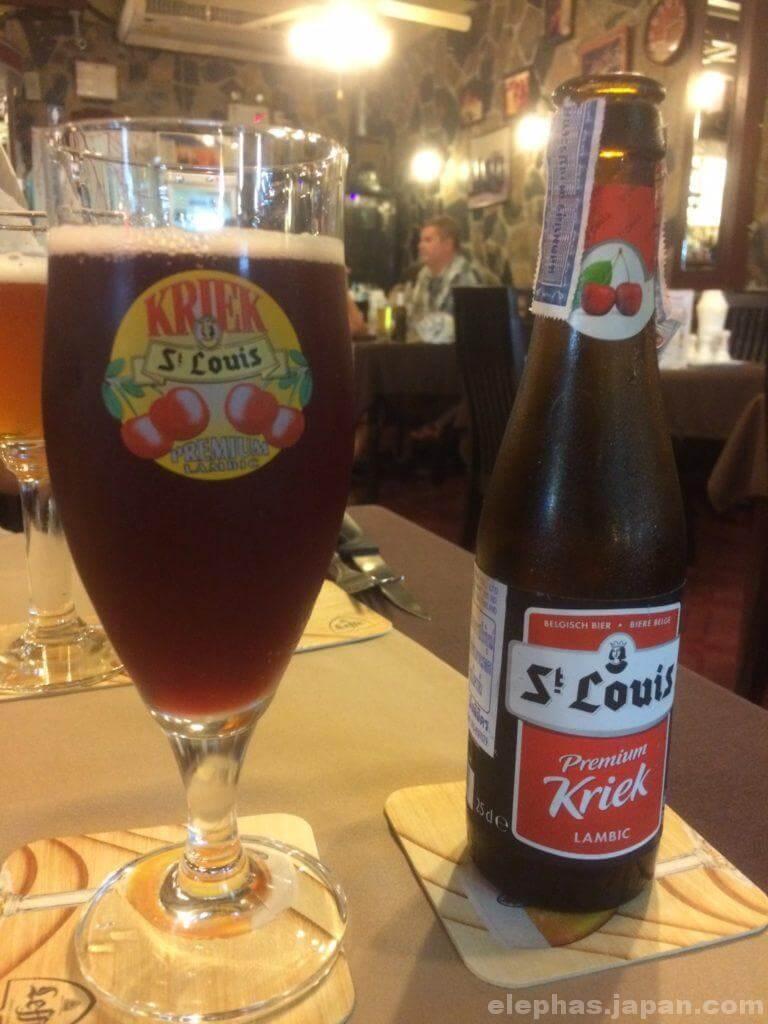 パタヤステーキハウスパトリックスのビール2