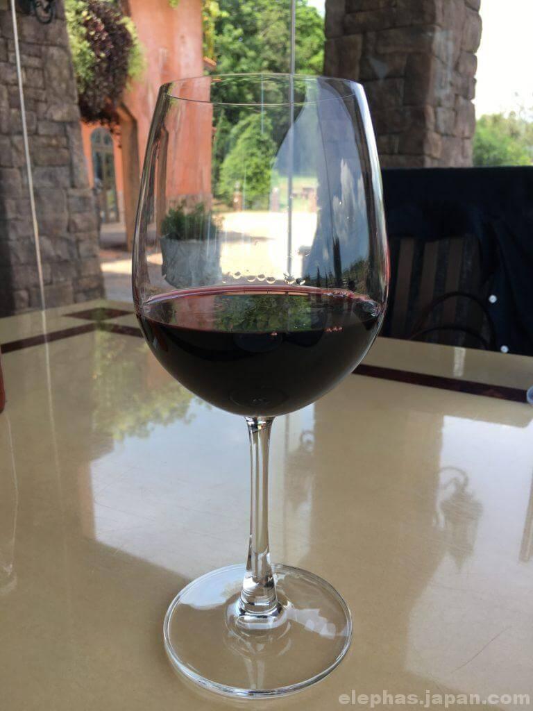 パタヤシルバーレイクの赤ワイン