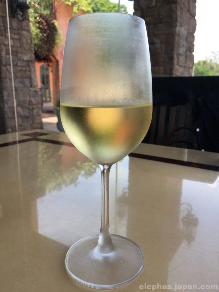 パタヤシルバーレイクの白ワイン