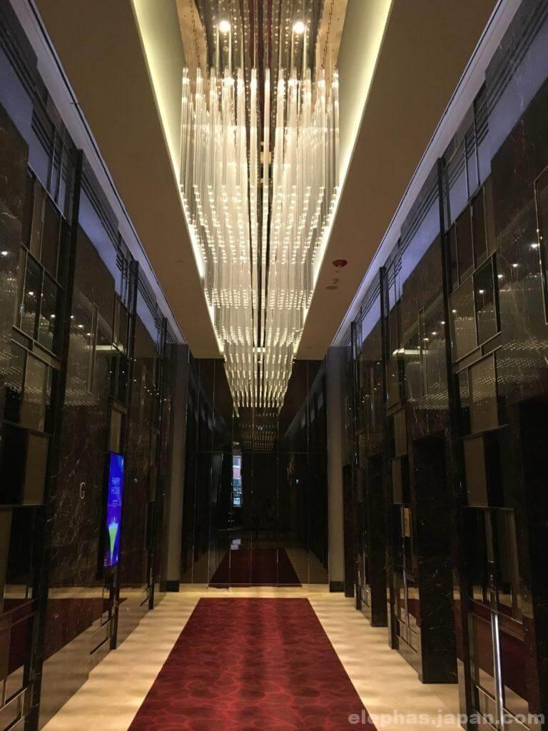 ラディソンブループラザバンコクエレベーターホール