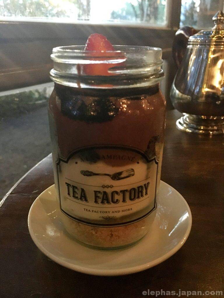 teafactoryパフェ