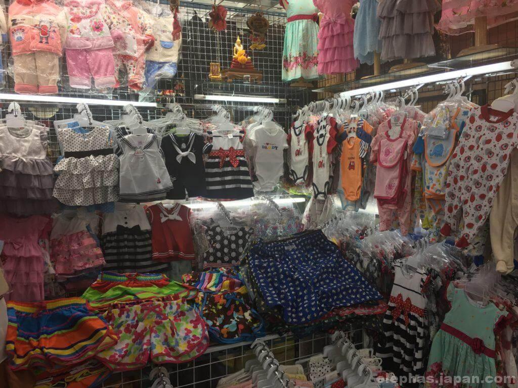 MBKの子供服