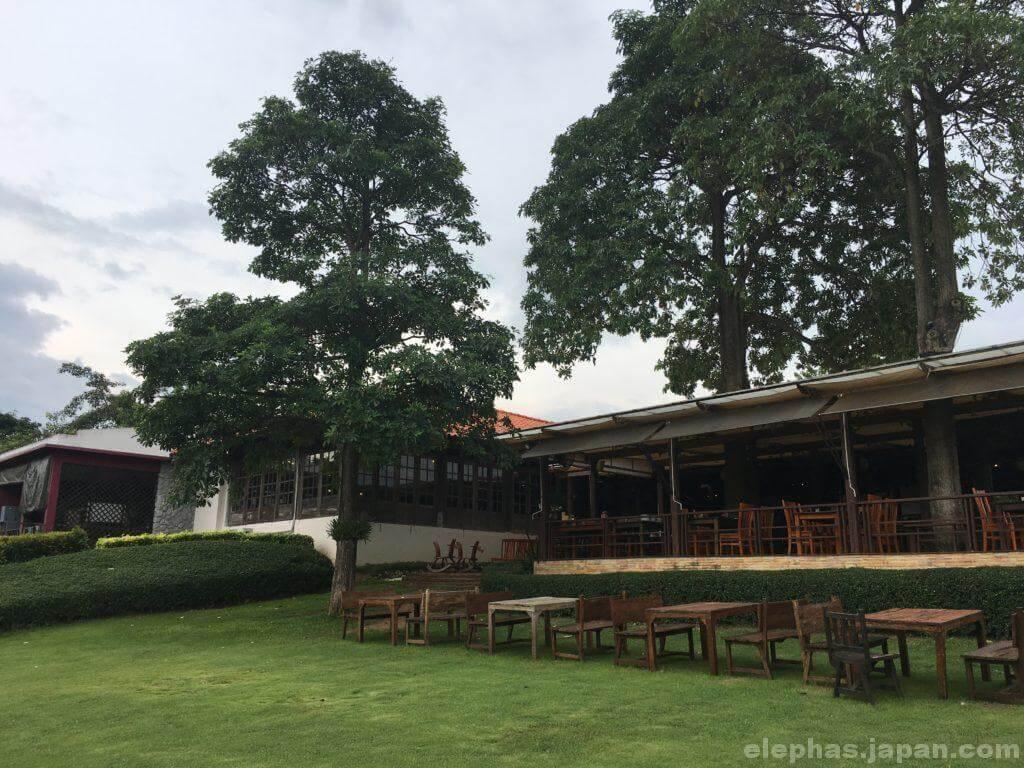 PBバレーカオヤイワイナリーの庭
