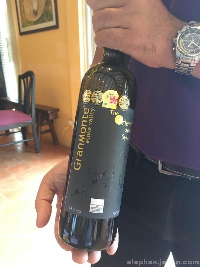 カオヤイグランモンテの白ワイン