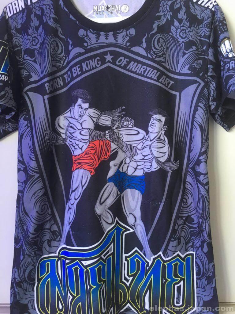 MBKの格闘技シャツ