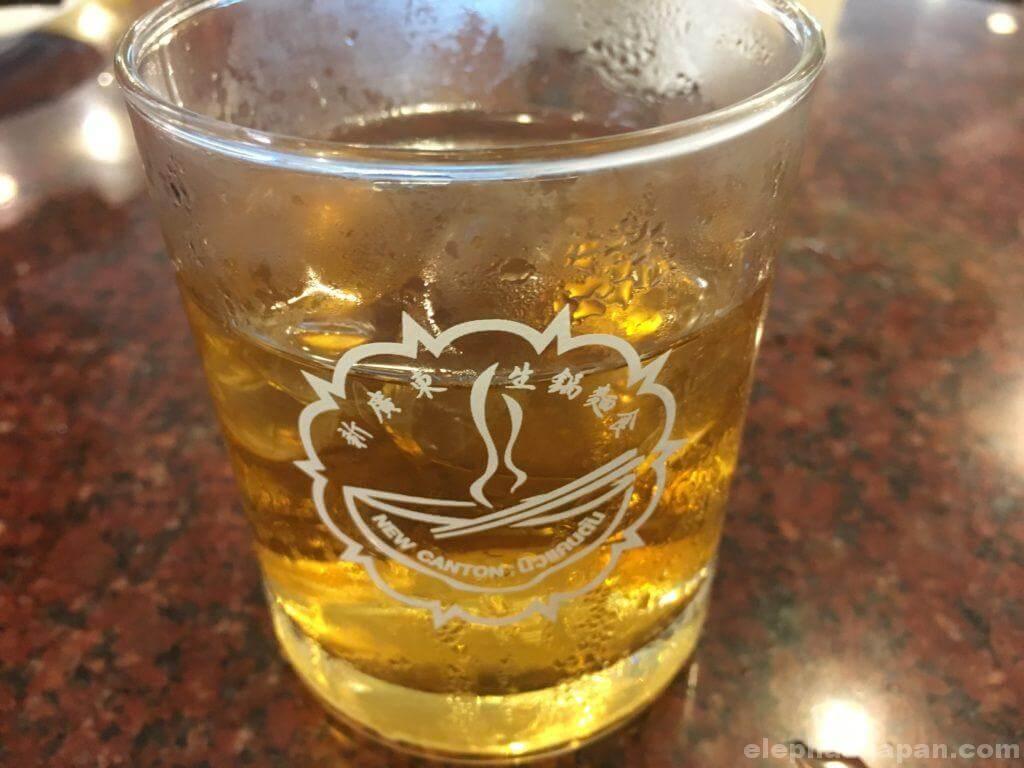 カントンのジャスミン茶