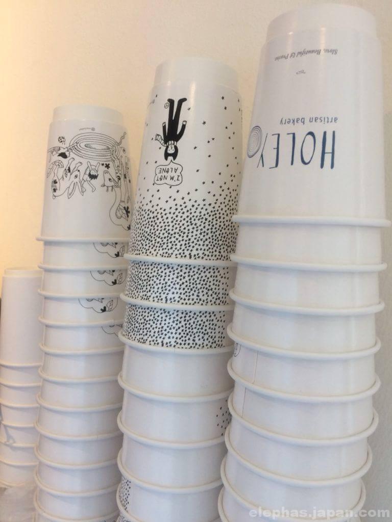 holeyテイクアウト用コーヒーカップ