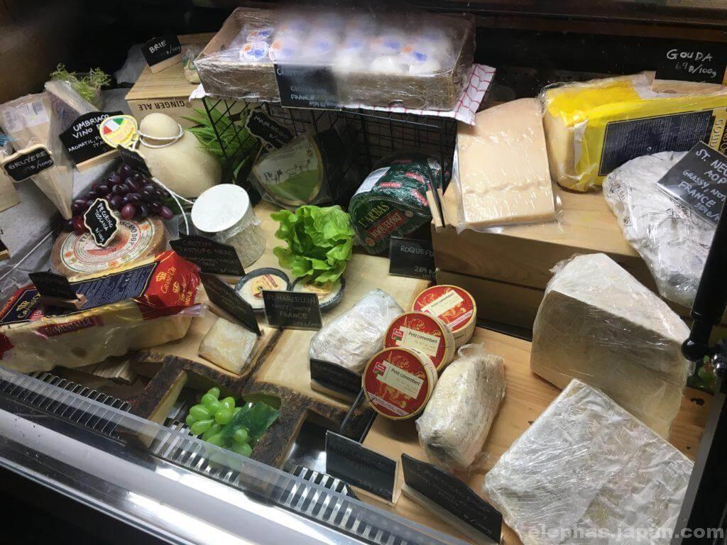 meatbar31チーズのショーケース