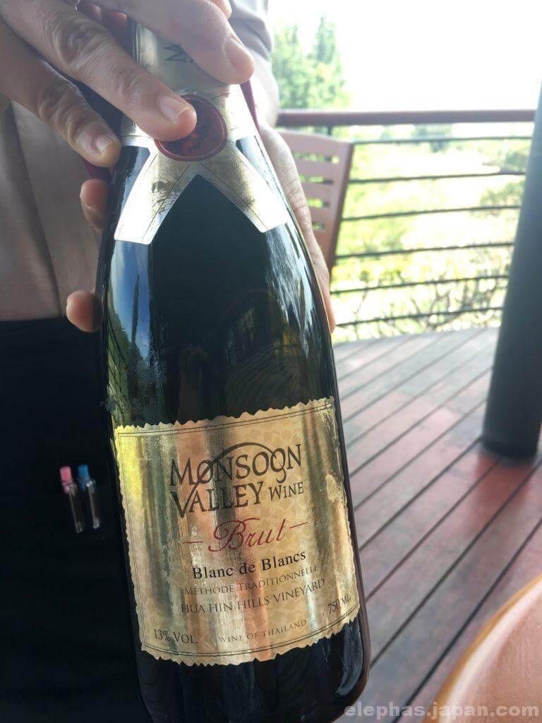 モンスーンバレーのスパークリングワイン