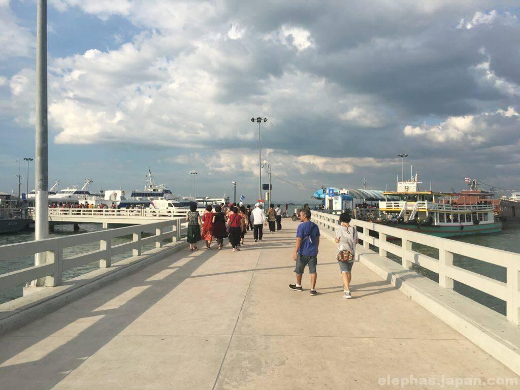 バリハイ埠頭の桟橋3