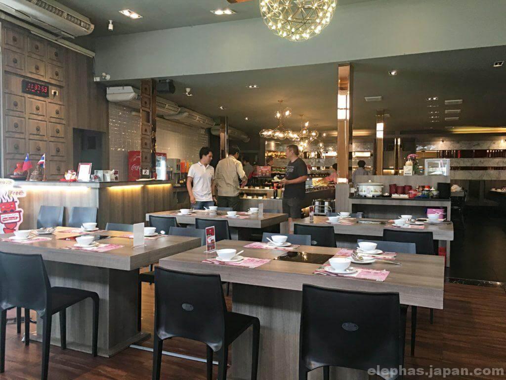 FuFu Taiwanese Shabu店内