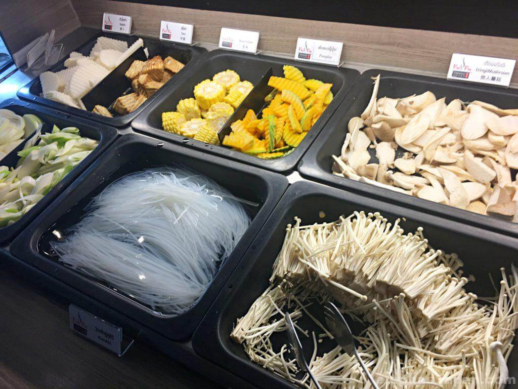 FuFu Taiwanese Shabu食材