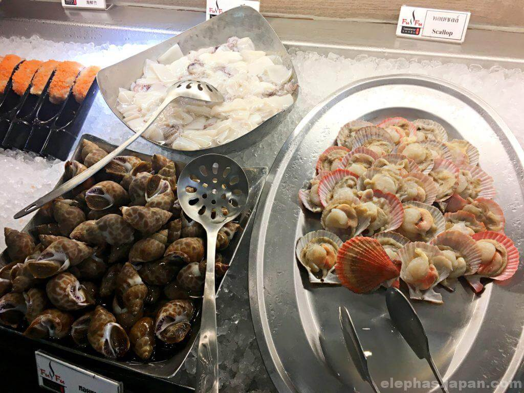 FuFu Taiwanese Shabu魚介類2